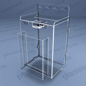 Коробка для благотворительности навесная на защелках