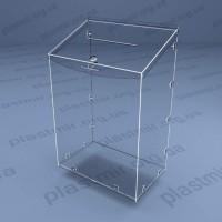 Коробка для пожертвований  на болтах