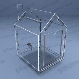 Коробка домик на болтах