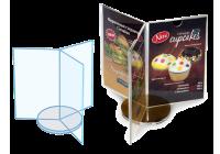 Изделия из оргстекла для кафе, баров, ресторанов